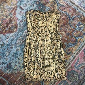 Gianni Bini NWT Strapless Mini Dress Size XS